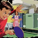 juegos tradicionales - ping pong