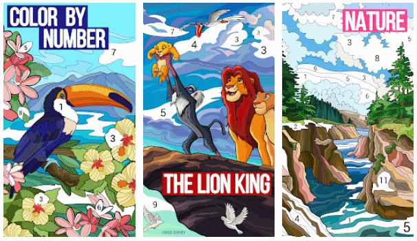 juegos para pintar android y iPhone