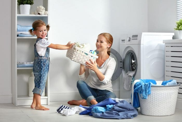 ninos tareas domesticas